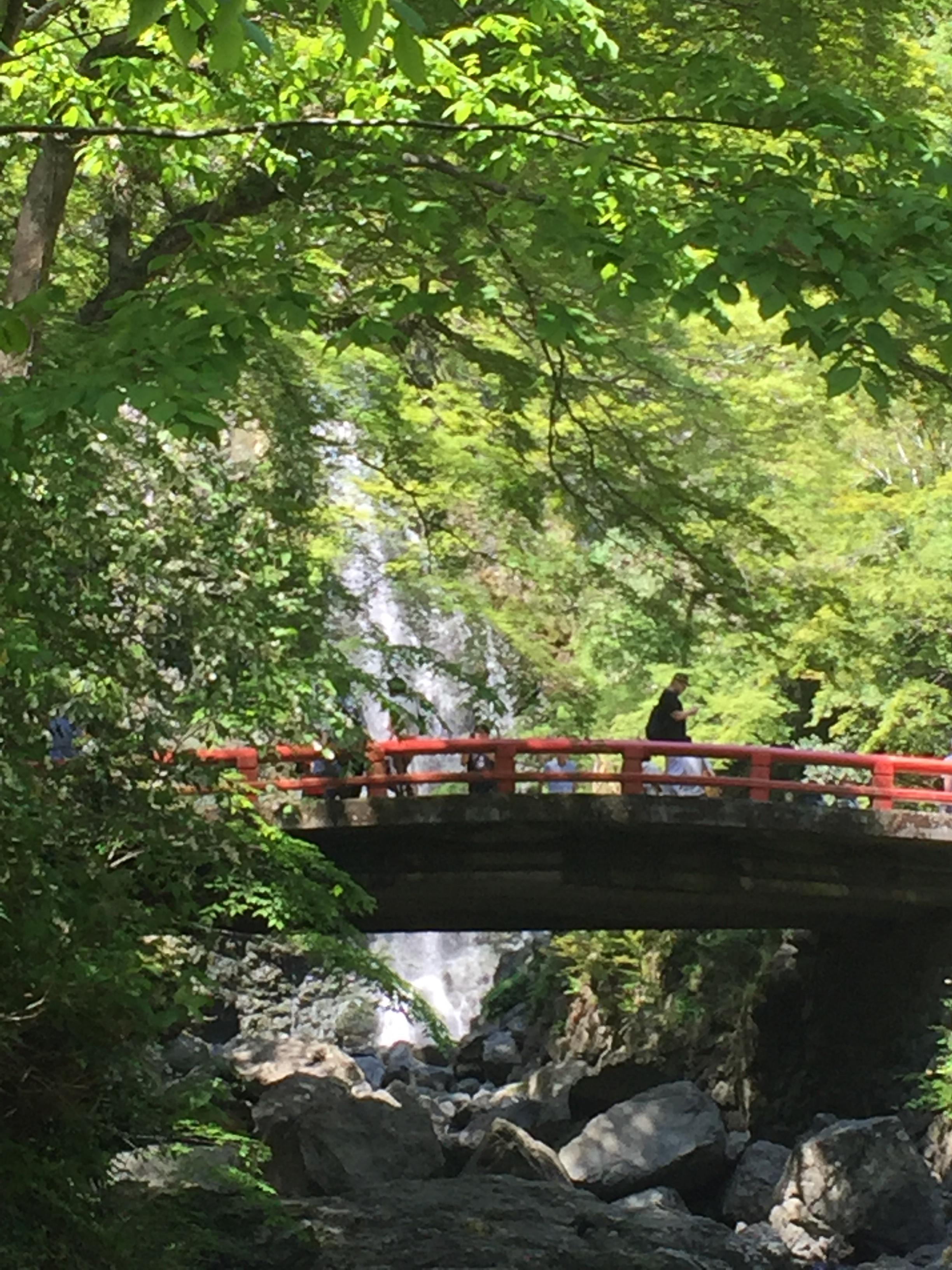 箕面の滝の橋