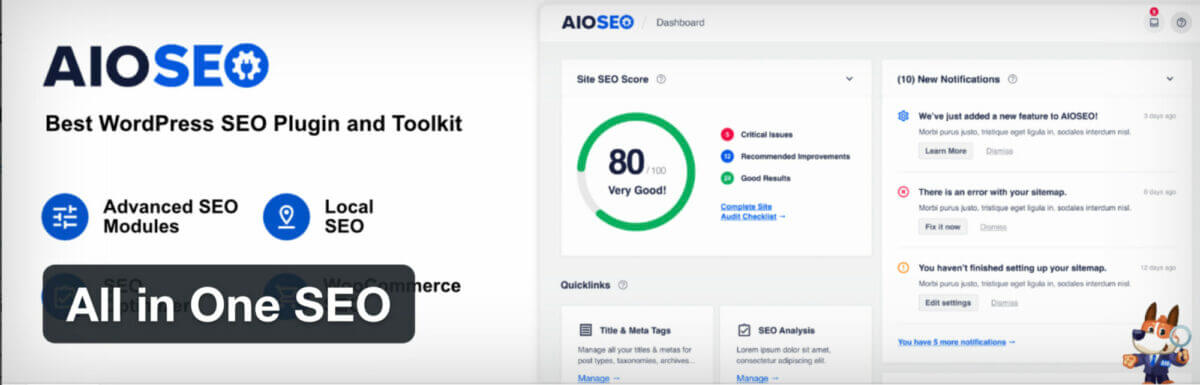 All in One SEO AIO